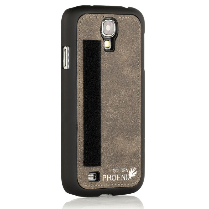 Golden Phoenix Samsung Galaxy S4 Mini Etui Royal Backcover